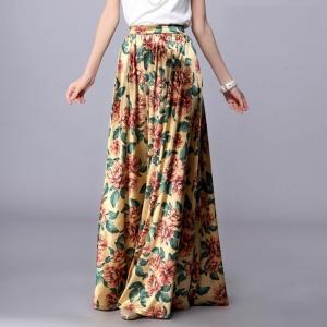Длинная юбка 3D001