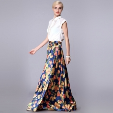 Длинная юбка 3D003
