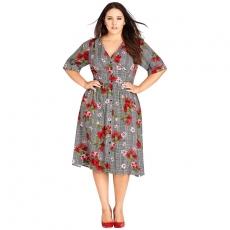 Платье миди PLP0029 размеры 54-68